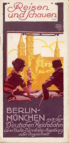 Deutschland- Reisen und Schauen. 1932. Siegmund von Suchodolski.
