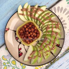 21 Day Fix: Roasted Honey and Cinnamon Chickpeas | From Forks to Fitness