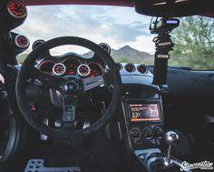 Phoenix Reincarnation // Brian McCann's Rebirthed Nissan Tuner Cars, Jdm Cars, Nissan 350z Custom, R35 Gtr, Custom Car Interior, Nissan Z, Car Goals, Drifting Cars, Mitsubishi Lancer Evolution