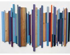 Art Wall Art 'Fractured Horizon' Abstract by BigFabDesigns