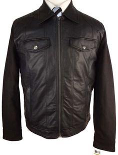 #Z174 NEW MICHAEL KORS Black Zipper Wool Coat Medium $250 #MichaelKors #BasicCoat