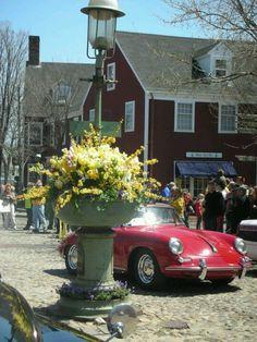 Nantucket Island. Daffodil Festival ...