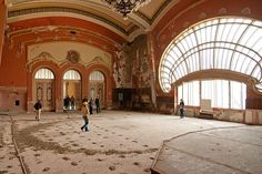 Casino Constanta, Constanta, Dobrogea Designed by Daniel Renard by the Black Sea, 1909-1910, Art Nouveau  (abandoned)