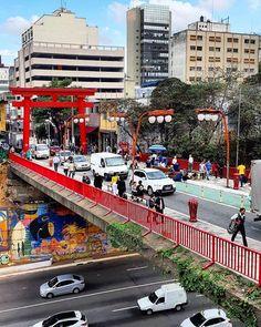 É aquela frase que amamos: Não é Japão é Liberdade! . . @renato.spilimbergo . Sp Photography, George Town Penang, Paulistano, Ormond Beach, Outside World, Environment Design, Street View, Main Street, Beautiful Places