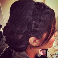 Professional Hair and Makeup Stylists with experience in Fashion, Film, Photography, and Weddings; Serving you and your wedding party on-location Wedding Hair And Makeup, Bridal Hair, Hair Makeup, Updos, Hairdos, French Braid, Professional Hairstyles, Braided Updo, Braid Styles