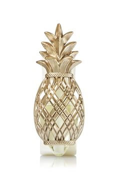 Pineapple - Wallflowers Fragrance Plug - Bath & Body Works - Freshly picked! Add a taste of the tropics with this sweet treat. Pair with your favorite Fragrance Refill for fragrance that welcomes you home for weeks and weeks.