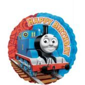 For Conner's 2nd!!! Foil Thomas the Tank Engine Happy Birthday Balloon - Party City