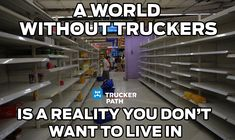 http://m.onelink.me/d5890481 Try Trucker Path Today! Trucker Memes Semi truck humor we need truckers www.truckerpath.com #meme #trucks #trucker #bigrig #Humor
