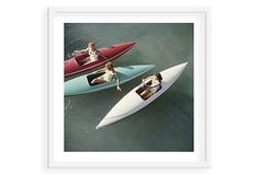 Slim Aarons, Canoeing Lake Tahoe on OneKingsLane.com