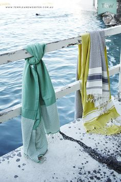 Focal Point Turkish towels, shot and styled by Temple & Webster.