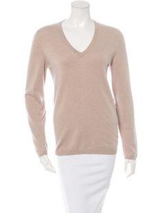 Cashmere Rib Knit Sweater