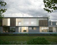 Picket Mead Housing by Hyde+Hyde