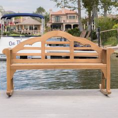 This rocking bench has a sturdy frame and an intricate back design to give you form and function in one. Spend some time in serenity with the Abbey rocking bench and never stop rocking!
