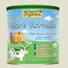 Organic Baby Formula Recommendations, Milk Organic Formula, Vermont Organics   vermontorganicsformula.com