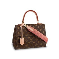 LOUIS VUITTON Official USA Website - Discover Louis Vuitton Cluny BB  leather and Canvas handbag 4ea3d4405f4bf