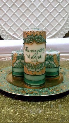 Mehndi Candle Set @henna_bybella
