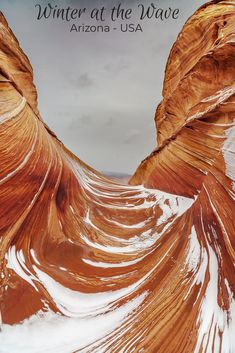 Photos from a trip to the Wave in Southern Arizona's North Coyote Butte during the winter. The snow captured on the waves is exceptionally beautiful! The Wave Arizona, Arizona Usa, Arizona Travel, Arizona Trip, Usa Travel Guide, Travel Usa, Travel Guides, Travel Tips, Route 66 Road Trip