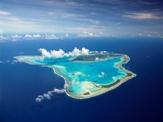 Cook Islands - just makes sense doesn't it.  I found this at flightsaustralia.com