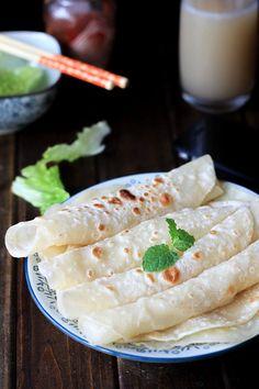 Chinese Mandarin pancake—Moo Shu shells or Beijing dark shells