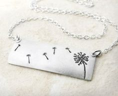<3 <3 <3 Dandelion Wishes necklace...favorite