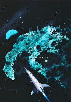 Vincent Di Fate (born November is an American artist specializing in science fiction, fantasy and realistic space art (hardware art) illustration. He was inducted by the Science Fiction Hall of Fame on June Gabriel, Star Trek, Science Fiction Kunst, Science Art, Sci Fi Kunst, 70s Sci Fi Art, Sky Images, Classic Sci Fi, Sci Fi Fantasy