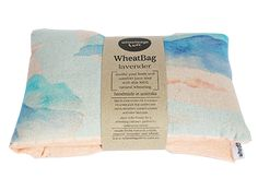 Wheatbags Love – wheat bag – hot and cold! The Clouds wheat bag is super versatile as you can warm it in the microwave for a soothing heat pack or keep it in the freezer for the perfect cold pack.Hand made in Australia AVAILABLE IN LAVENDER, CLOVE OR UNSCENTED. -100% cotton fabric Beautiful watercolour mountain …