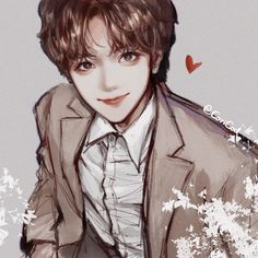 Lucas Nct, Na Jaemin, Kpop Fanart, Anime Outfits, Cute Stickers, Drawing Reference, Nct 127, Nct Dream, Illustration Art