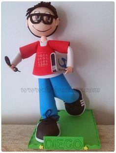 muñecas personalizadas fofucho informatico