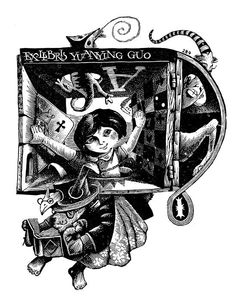 FREE artist directory DOWNLOAD~BOOKPLATES: THE ART OF THIS CENTURY! http://www.bookplate.org/book-store Ex Libris by Serik Kulmeshkenov