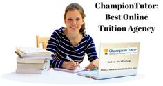 ChampionTutor is the Best Online in Malaysia. We are always here to help you when you needs us in study or for part time Online Tuition is now a perfect way of learning, it is cost effective and saves our time. Call us at 6850 Home Tutors, Ways Of Learning, Online Tutoring, Children, Kids, Champion, Study, School, Young Children