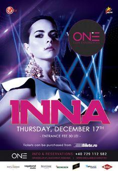 Joi, 17 Decembrie ora Club One, Bucuresti Bucharest Romania, Events, Club, Studio, Movie Posters, Heineken, Film Poster, Studios, Billboard