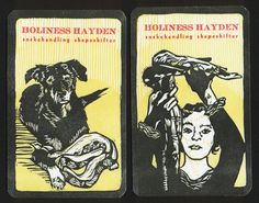 Old Maid cards- Kathryn Hunter- blackbird letterpress- Holiness Hayden-snakehandling shapeshifter...Holiness Church in the Sand Mountain area of North Alabama.See Salvation on Sand Mountain, by Dennis Covington.