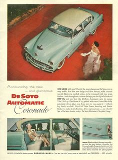 1954 De Soto Coronado ad