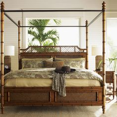 Found it at Wayfair - Island Estate West Indies Four Poster Bed                                                                                                                                                     More