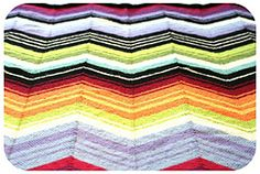 Ravelry: Missoni Inspired Chevron Blanket pattern by Kelly Kingston