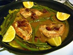 Slice of Southern: One Pot Meal: Chicken and Asparagus Skillet Supper