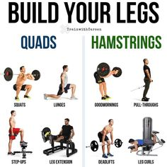 Build Massive Strong Legs & Glutes With This Amazing Workout And Tips The legs are often not a major priority in a lot of bros training programs. If anything, there is usually just a measly leg day thrown in that consists of squats and a few leg machines. Leg Workouts For Men, Leg And Glute Workout, Gym Workouts, At Home Workouts, Home Leg Workout Men, At Home Hamstring Workout, Glutes Workout Men, Workout Tips, Workout Plans