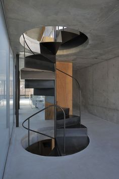 Staircase House inTakadanobaba by Florian Busch Architects