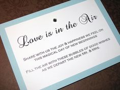 sign for bubbles at wedding | Recent Photos The Commons Getty Collection Galleries World Map App ...