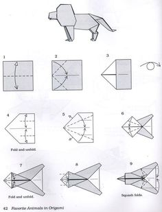 Answers.com - How do you make a Hideo Komatsu Origami Lion