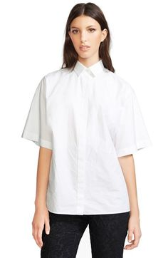 Dolce&Gabbana Cotton Poplin Blouse available at #Nordstrom