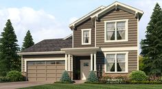 Whitcomb II Floor Plan | Hartford Homes at Harvest Village | Wellington, CO