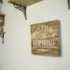 WelCome Home Decor Sign