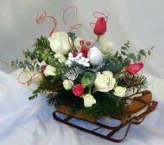 Christmas Floral Arrangements For Church Artificial ...