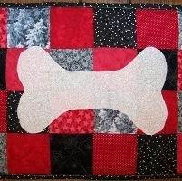 Bow Wow - Kennel Quilt - via @Craftsy