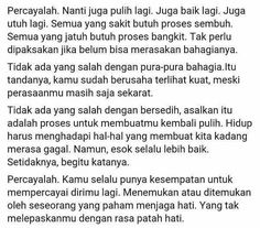 Percayalah Quotes Rindu, Text Quotes, Mood Quotes, People Quotes, Crush Quotes, Daily Quotes, Life Quotes, Qoutes, Cinta Quotes