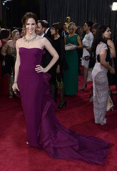 Best Oscars Dresses 2013: Jennifer Garner wore a custom Gucci Première gown.