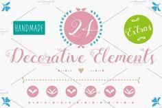 Decorative Elements by Buni Line on @creativemarket