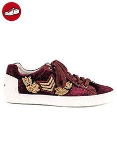 Damen Frauen Spitze bis Hi Top Trainer Pumpe Schuhe Mädchen Flach Spitze  Pumpen Größe 3 4 5 6 7 8, Grün - Khaki - Größe: 35 - Sneakers für frauen (…