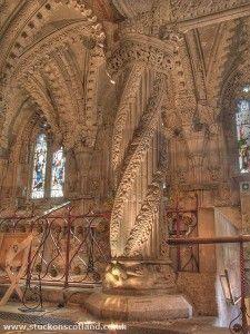 Rosslyn Chapel - Rosslyn, Scotland